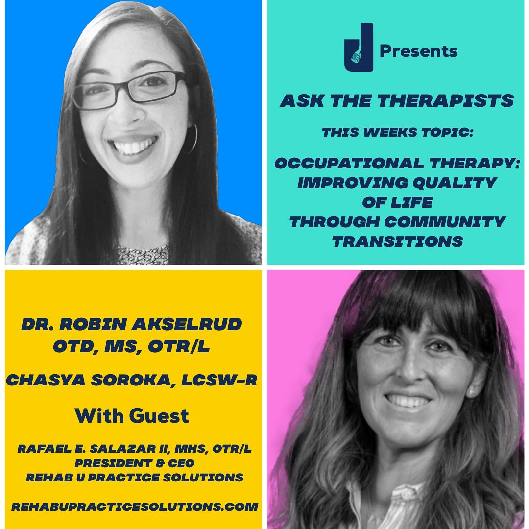 Podcast Interview: Ask the Therapists Ep 14: Improving Quality of Life Through Community Transitions