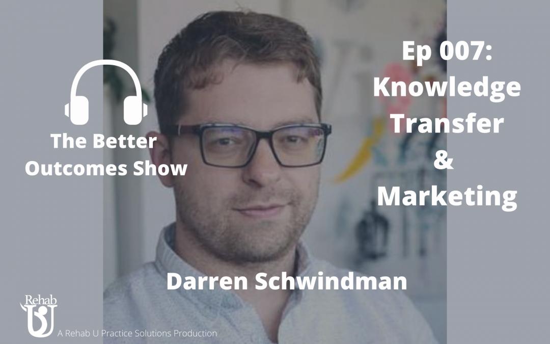 Episode 007: Knowledge Translation with Darren Schwindaman